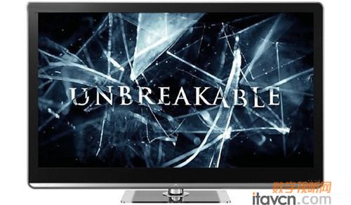 用在液晶电视上之后,将进一步减少液晶屏幕破碎的概率.