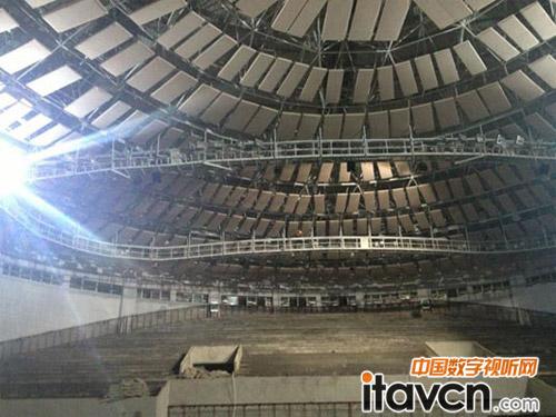 百威专业音响系统入驻广西德保县体育馆