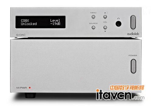 多功能合一 audiolab推出q-dac功放解码