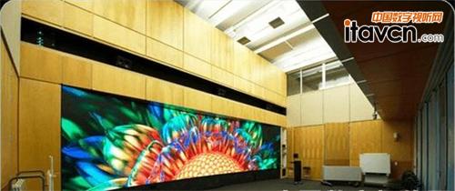 斯坦福大学教室部署高清数字标牌视频墙